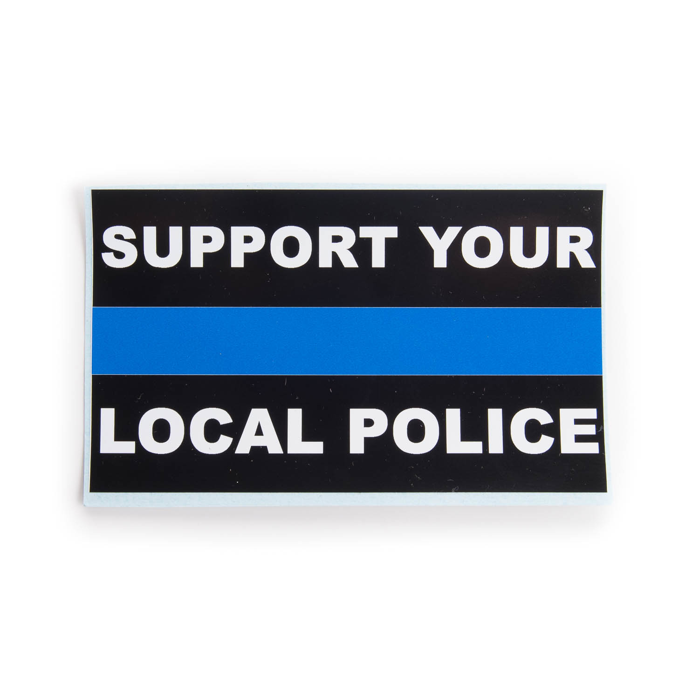 Local Police Blue Line Sticker | MHQ