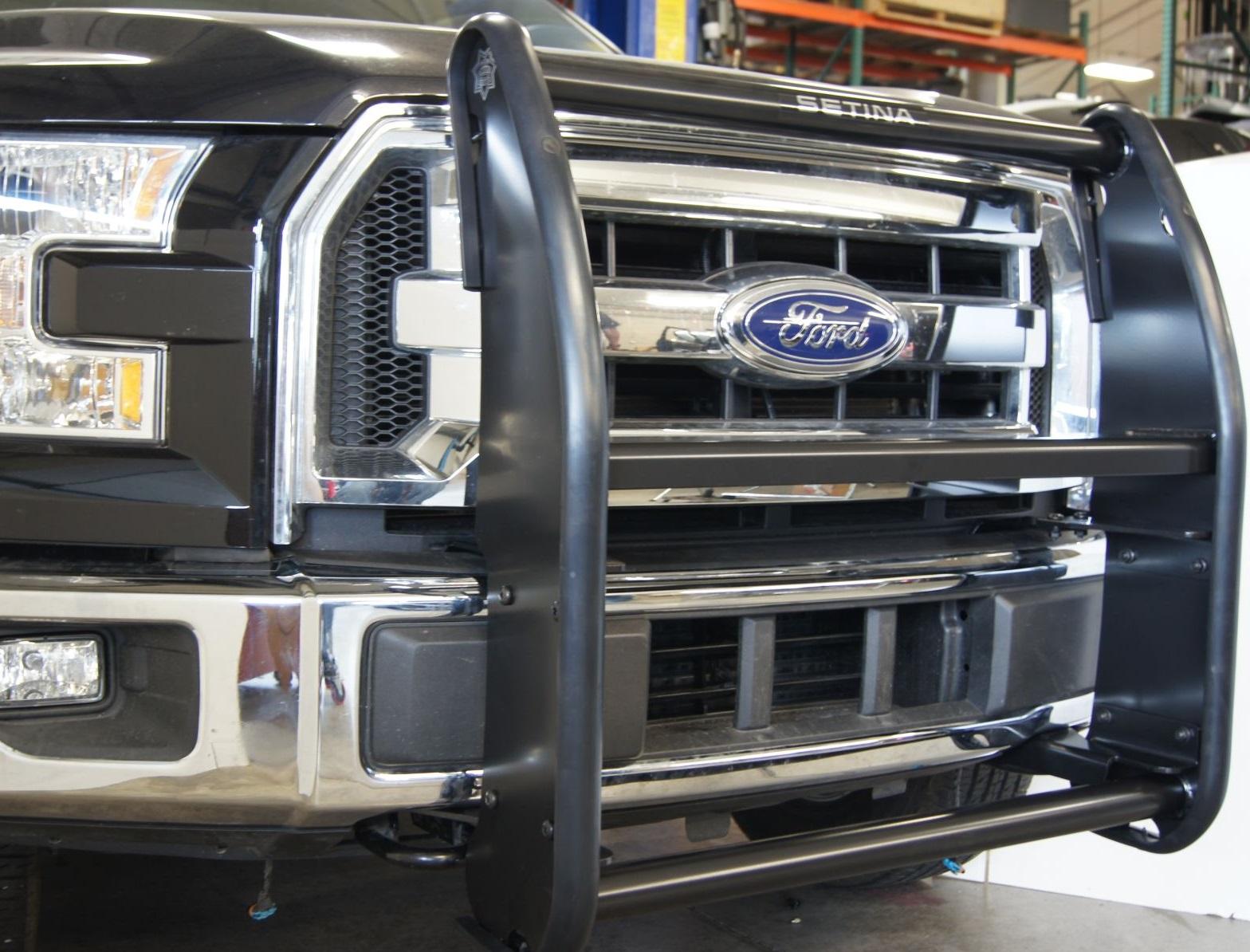Ford Setina Pb 400 Series Aluminum Push Bumper Mhq Mhq