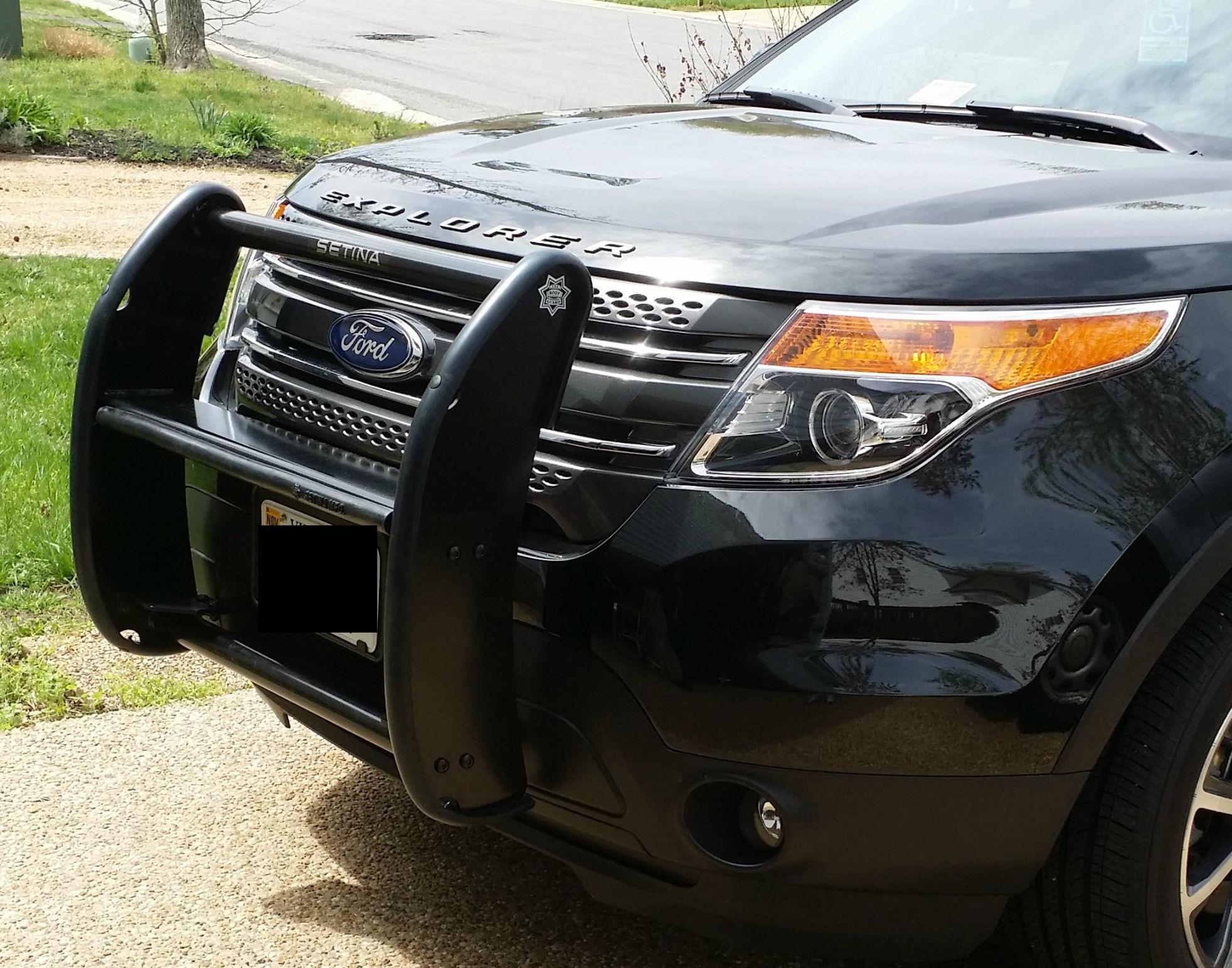 Custom 2015 Ford Fusion >> Ford - Setina PB-400 Series Aluminum Push Bumper | MHQ | MHQ