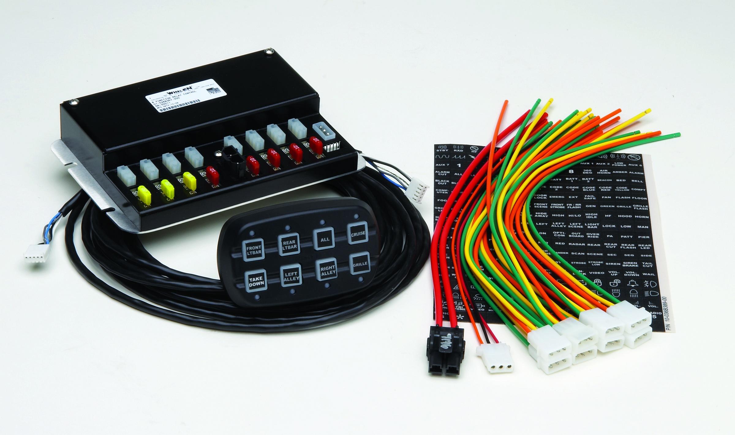 Whelen Pcc8r Power Control Center