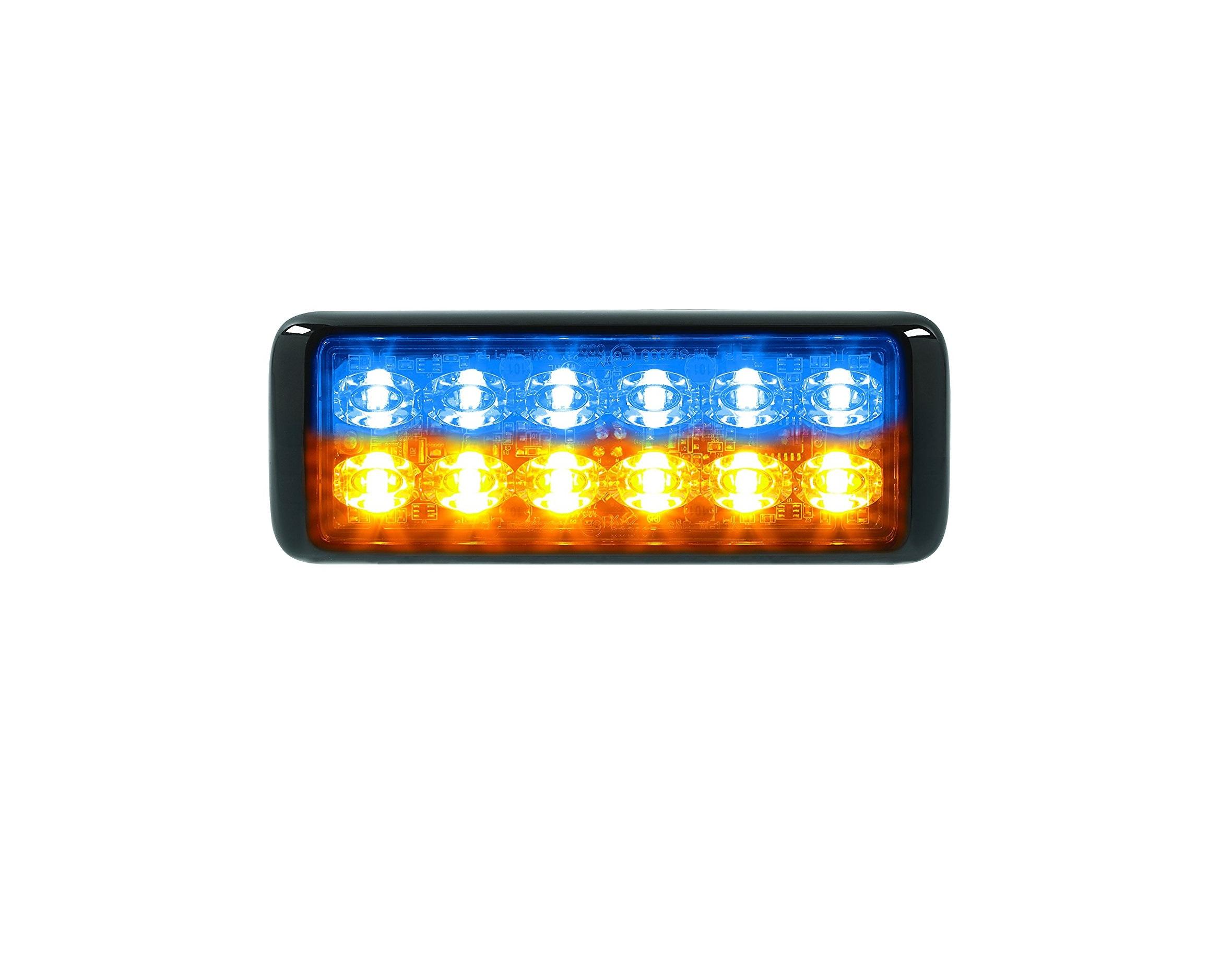Federal Signal Micropulse Ultra Mps1200u Split Color Mhq