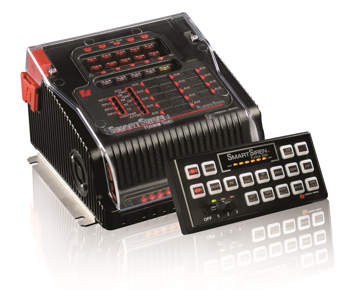 federal signal smartsiren platinum mhq siren federal signal pathfinder� siren light controller