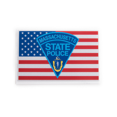 MSP Flag Logo Sticker