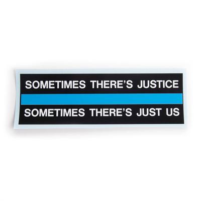 MSP Blue Line Sticker