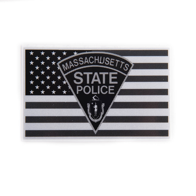 MSP Subdued Flag Logo Sticker