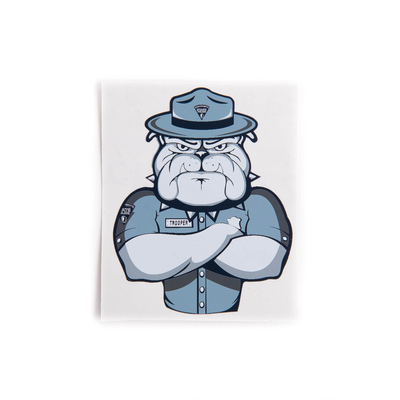 MSP Bulldog Sticker