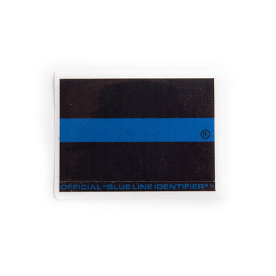 Small Thin Blue Line Sticker