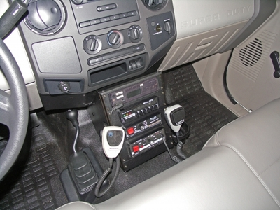 """2008-2010 Ford F250 Vehicle Specific 12"""" Console Only"""